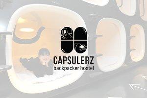 Capsulerz : Backpacker Hostel Logo