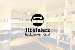 Hostelerz : Backpacker Hostel Logo