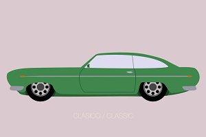 vector classical car