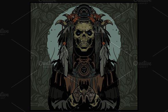 Horror Skull Fantasy Demon