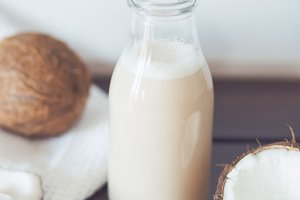 Coconut milk bottle