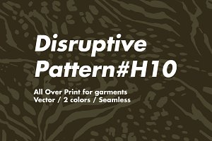 Disruptive pattern #H10 Animal Print