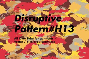 Disruptive Pattern #H13 BeachCamou