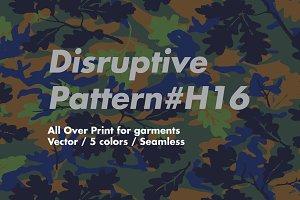 Disruptive Pattern #H16 Fallmuflage