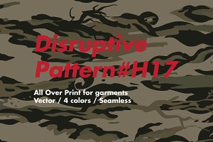 Disruptive Pattern #H17 AsianCamo
