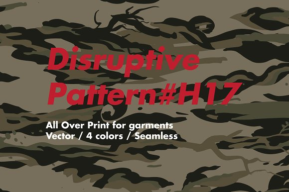 Disruptive Pattern #H17 AsianCamo
