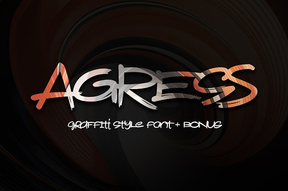 Agress Font Bonus