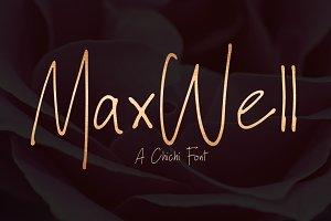 Maxwell | Handwritten Font