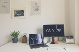 Creative Design Office Workstation