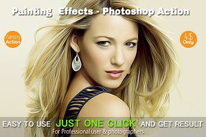Painting  Effects - Photoshop Action