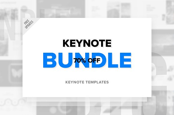 Keynote Bundle Free Updates