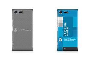 Xperia XZ Premium Phone Case Mockup