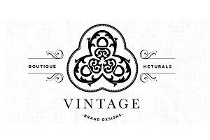 Vintage Brand Logo