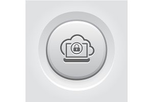 Secure Cloud Access Icon.