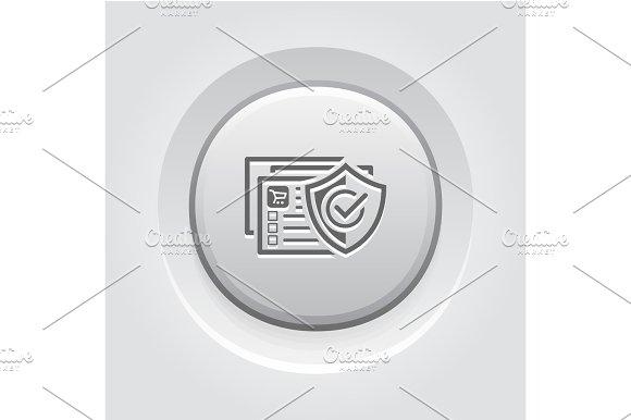 Safety Shopping Icon