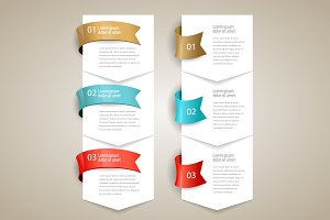 Design infographics template