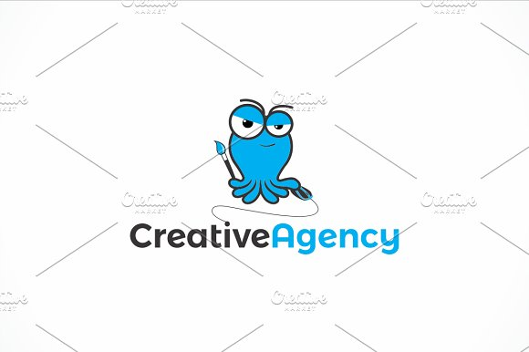 Squid Creative Agency Logo