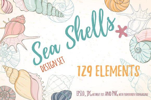Sea Shell Design Set