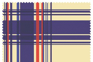 Scottish Tartan Fabric Texture
