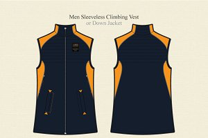 Men Sleeveless Climbing Vest