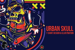 SWG Urban Skull Illustration