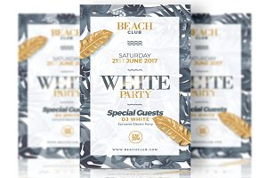 White Party - Flyer Template