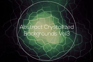Crystallized Backgrounds Vol 3
