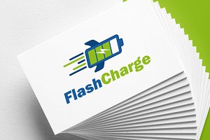 Flash Charge | Battery | Logo