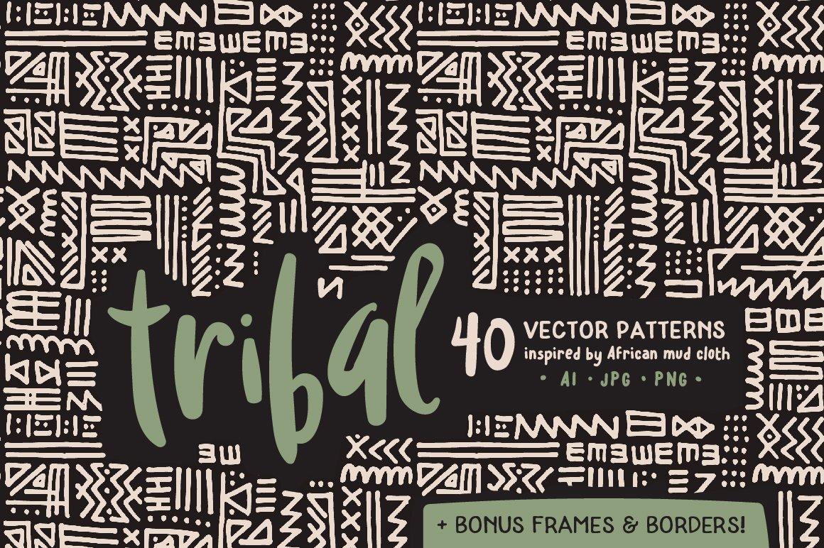 Handmade Tribal Pattern Pack ~ Graphic Patterns ~ Creative ... - photo#42