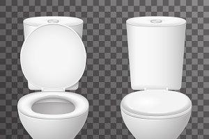 Toilet ceramic