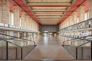 Berlin Tempelhof main hall