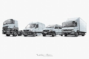 Commercial Vehicles Set
