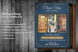 Antique Shop Flyer Template