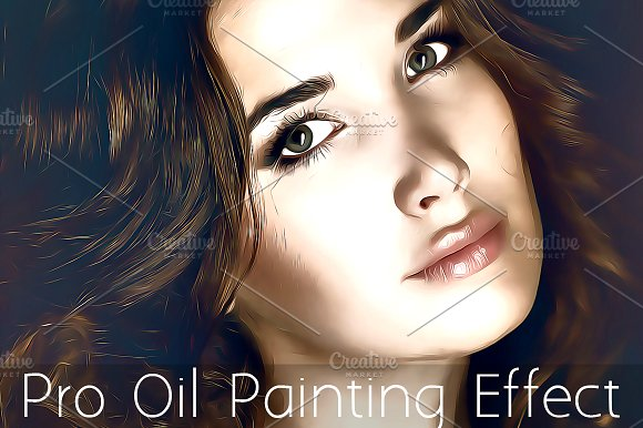 Pro Oil Painting Effect Action