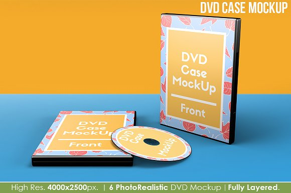 Download DVD Case Mockup