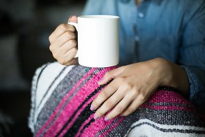 Coffee Mug Mockup + Casual
