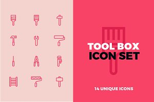 Tool Box Icon Set