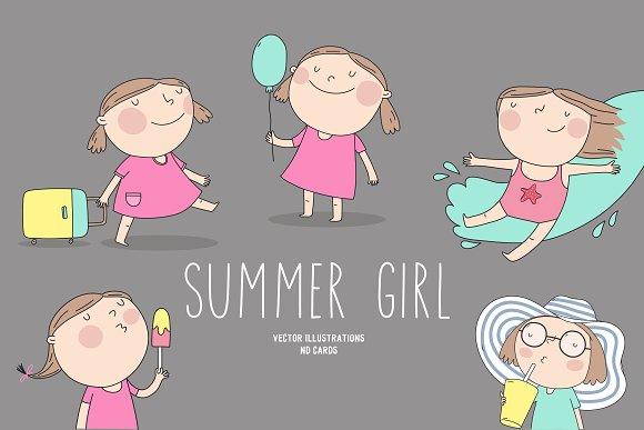 Summer Girls Character