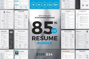 Best Selling Resume/CV Bundle