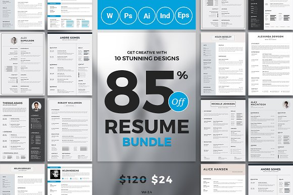 Best Selling Resume CV Bundle