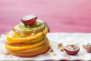 Mixed Fruit sweet dessert - salad