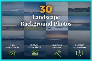 30 Landscape Photo Backgrounds
