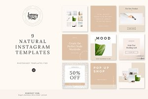 Natural | Instagram Template