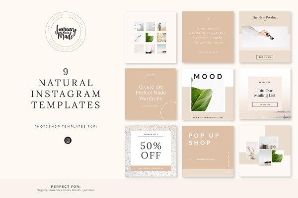 Natural | Instagram Template
