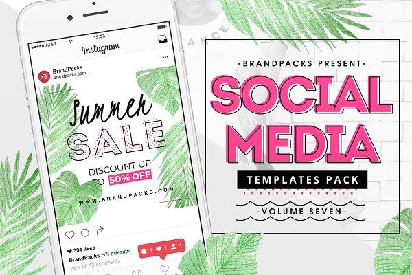 Summer Social Media Templates Pack