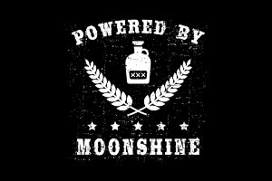 Powered by moonshine