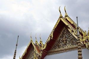 Roofs of Wat Pho, Bangkok