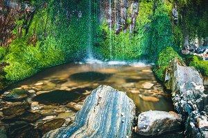 Cascade water detail