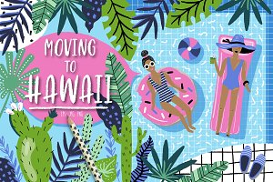 Moving to Hawaii summer set
