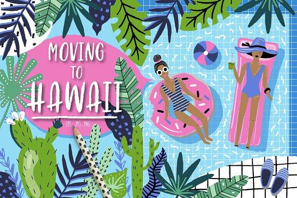 Moving To Hawaii Summer Set